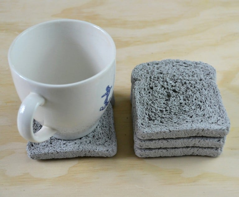 Default Whole Wheat Concrete Coasters Cool Cup Mat