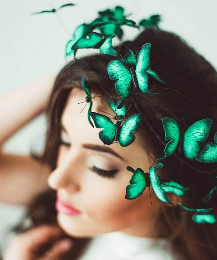 Ever heard of butterflies in your head?