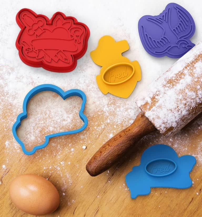 Fred & Friends Tough Cookie Tattoo Cookie Cutter Best Kitchenware