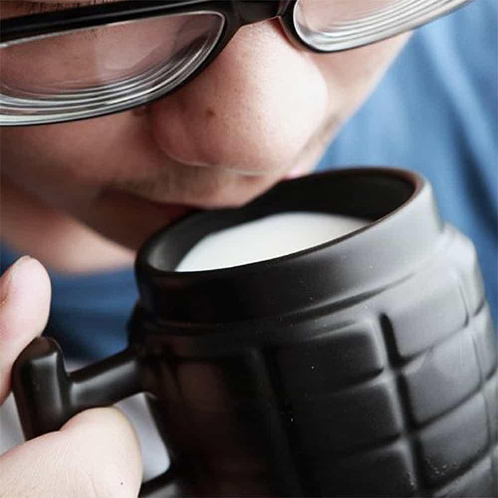 Grenade Mug Cool Novelty Item
