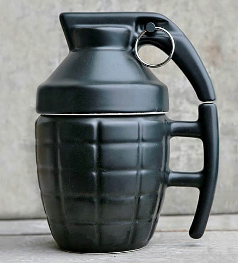 Grenade Mug Gift for Everyone