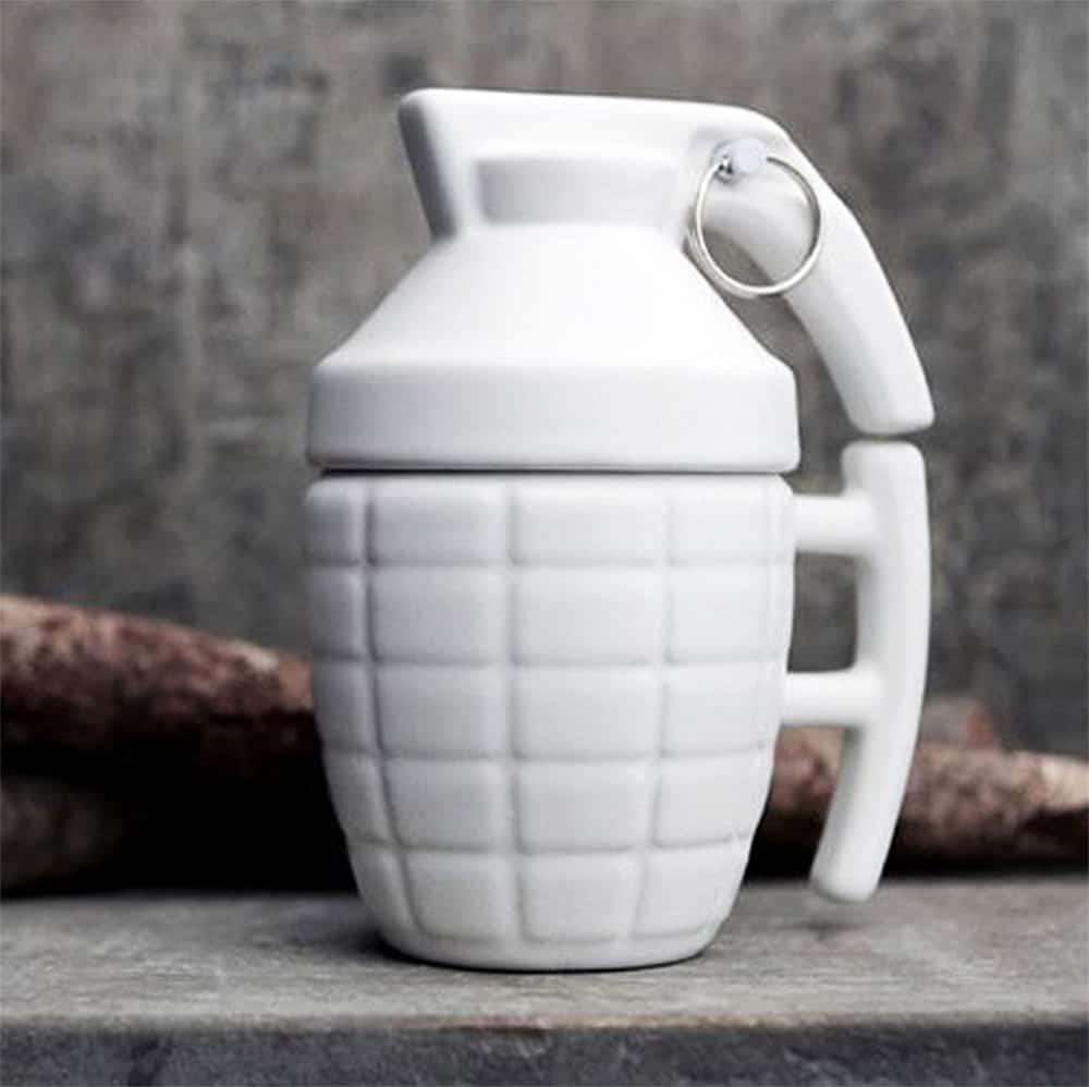 Grenade Mug Good for Coffee Lover