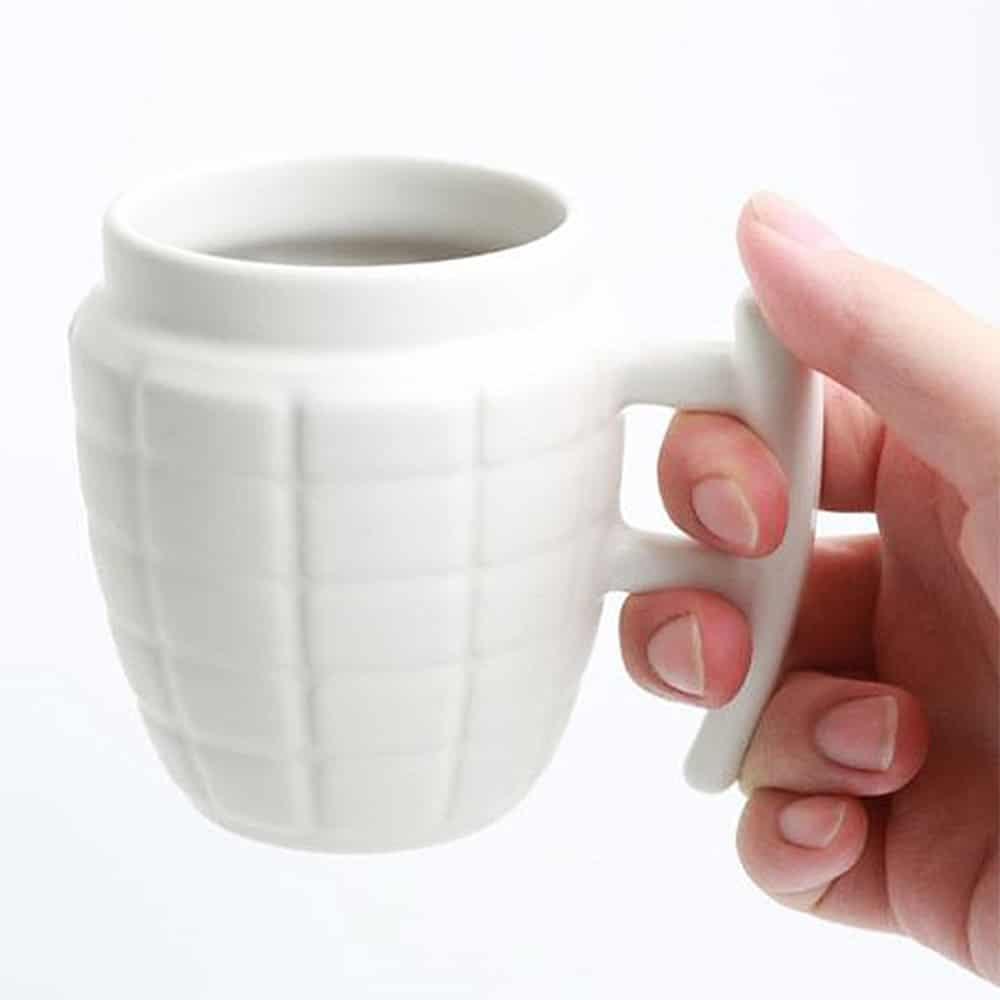 Grenade Mug Things to have at Office
