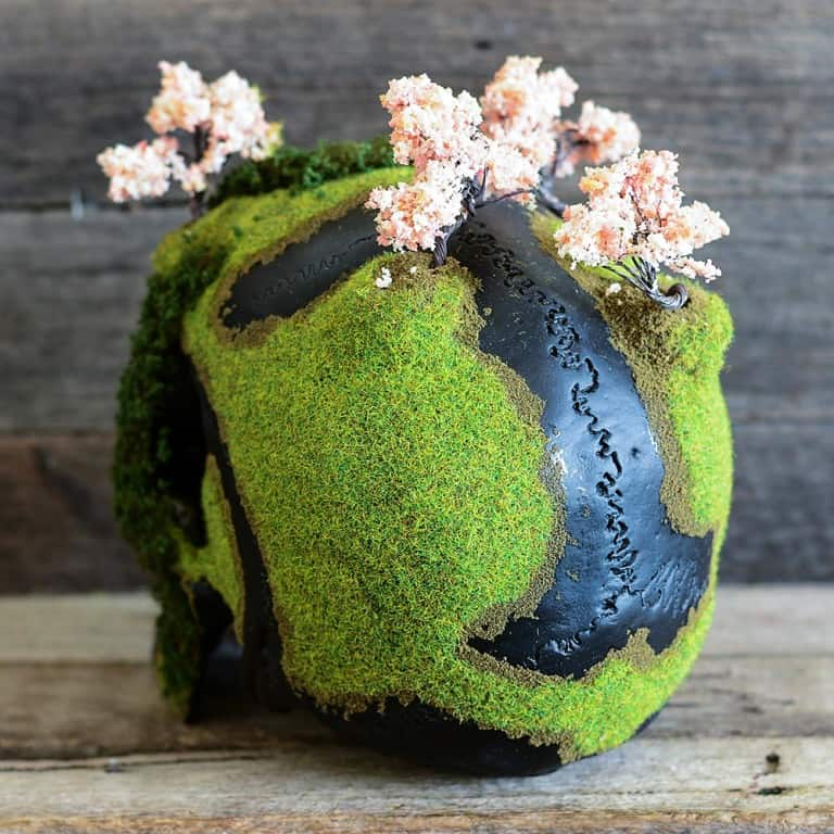 Jack of the Dust Cherry Blossom Bonsai Mountain Skull Cool Novelty Item
