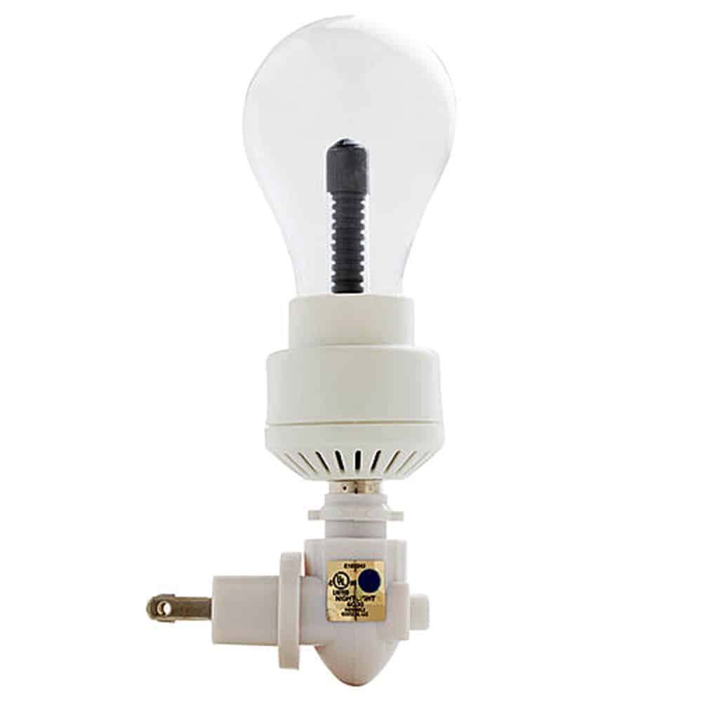 Kikkerland Plasma Bulb Night Light Noveltystreet