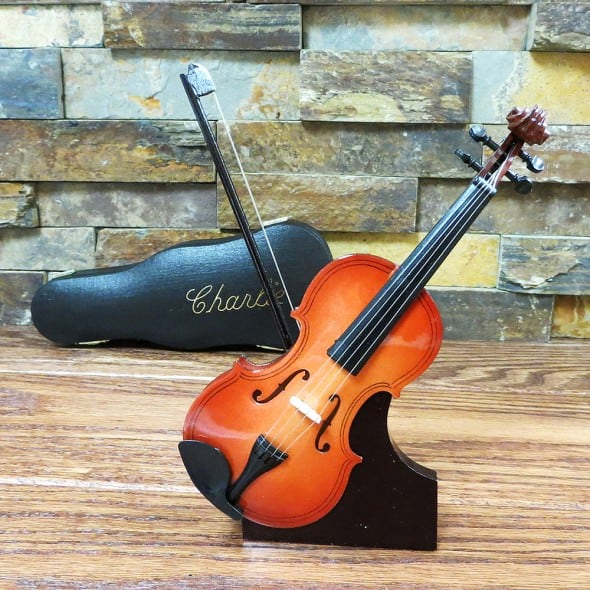 Miniature Personalized Violin Nice House Decoration