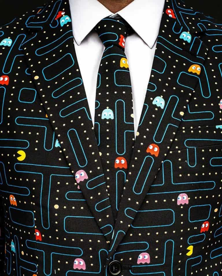 Oppo Suits Pac-Man Suit Cool Formal Attire