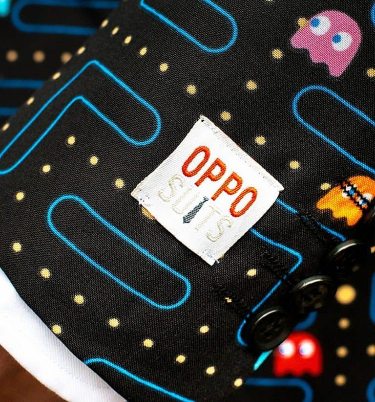 Oppo Suits Pac-Man Suit Game Themed Clothes