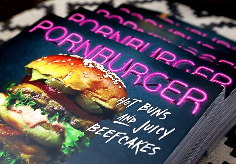 PornBurger Book Gift for Food Lover