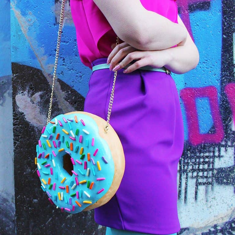 Rommy De Bommy Donut Jewelry Purse Cool Shoulder Bag