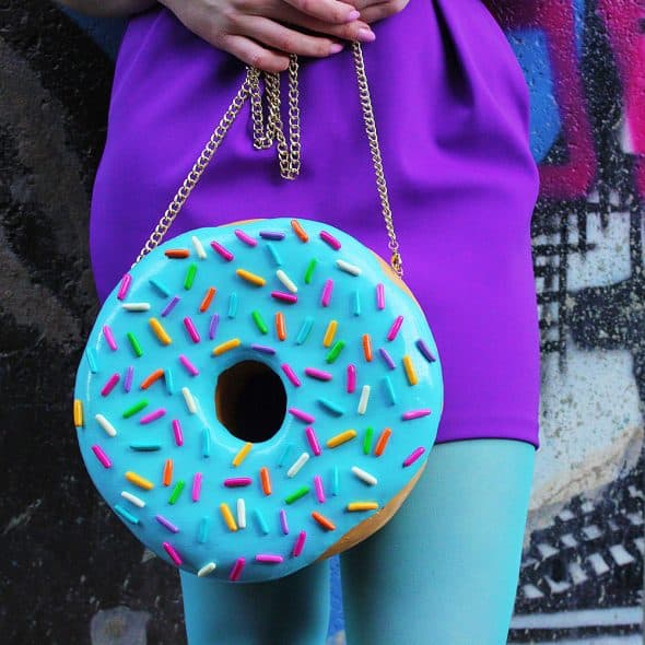 Rommy De Bommy Donut Jewelry Purse Gift Idea for Her