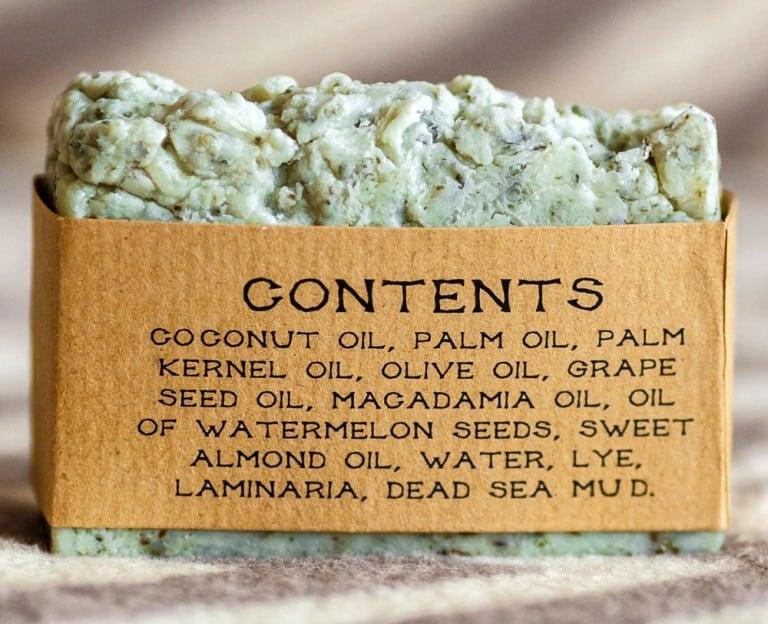 Rustic Joy Soap Dead Sea Mud and Laminaria Soap Good for Bath