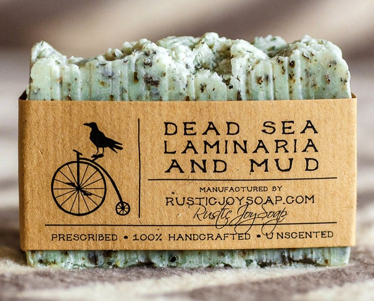 Rustic Joy Soap Dead Sea Mud and Laminaria Soap Skin Care