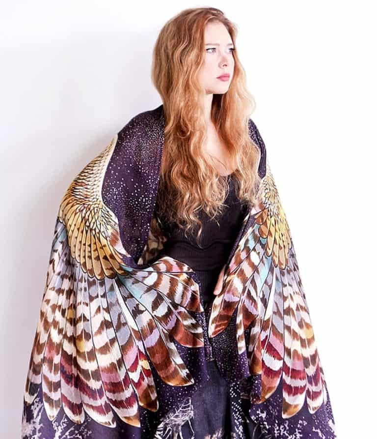 Shovava Owl Wings Scarf Cool Garment