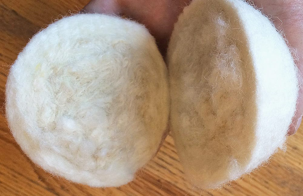 Smart Sheep Wool Dryer Balls Nice Dryer Material