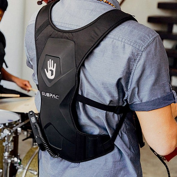 Subpac M2 Wearable Tactile Bass System Gift Idea for Him
