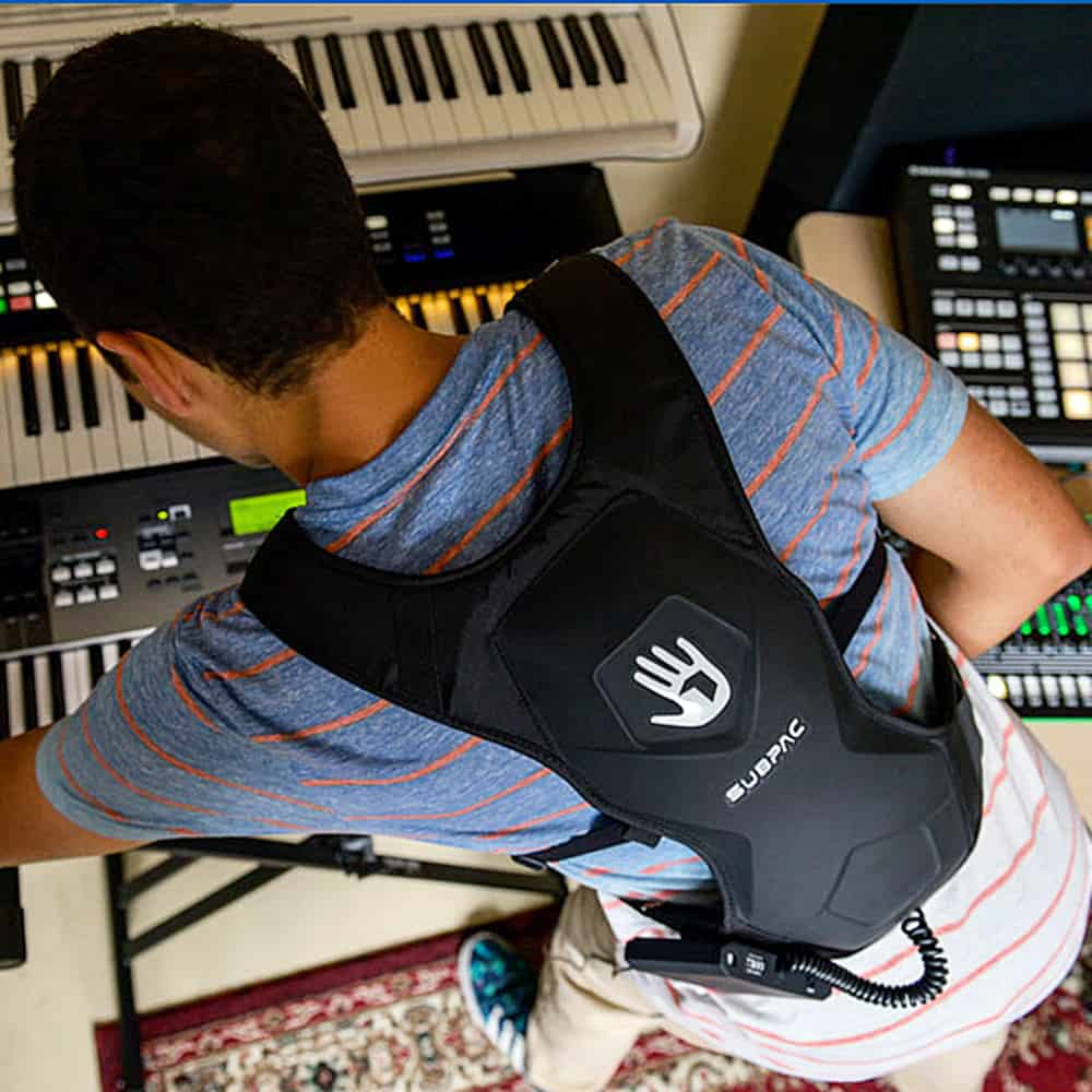 Subpac M2 Wearable Tactile Bass System Portable Audio Component