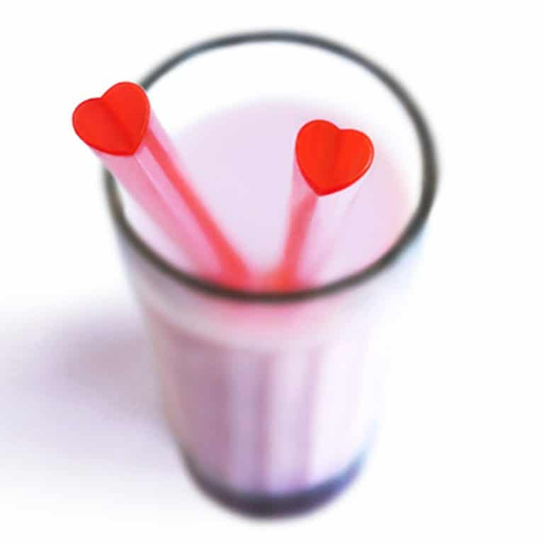 Suck UK Heart Shaped Straws Cool Novelty Item