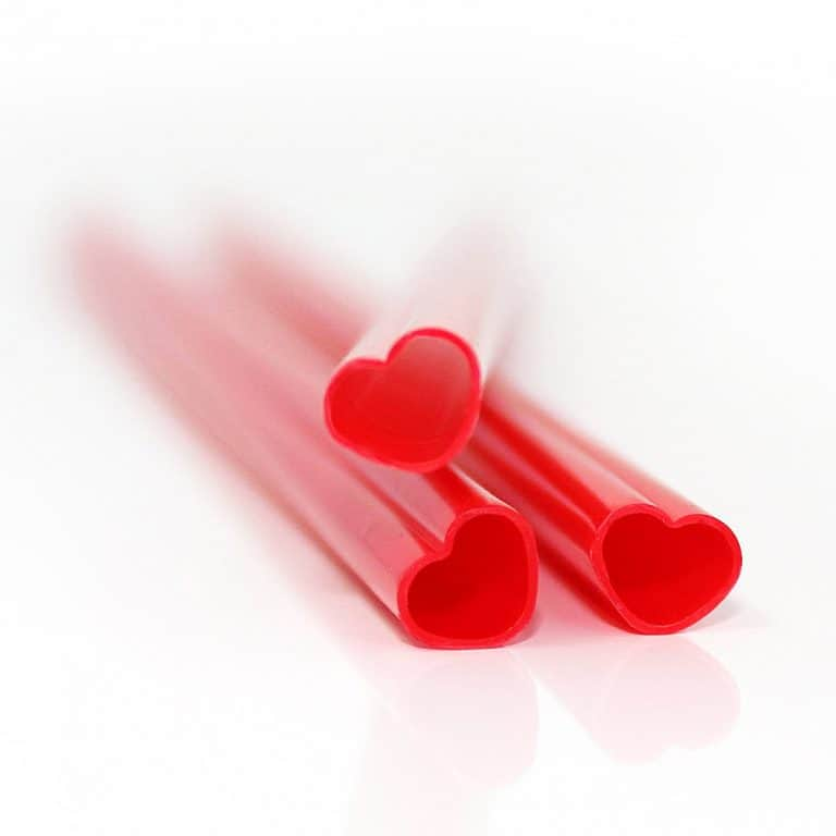 Suck UK Heart Shaped Straws Good for Parties