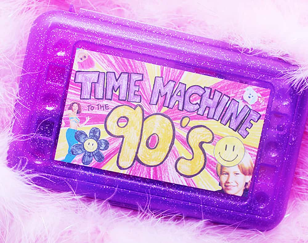 Sweet and Lovely Time Machine To The 90s Nostalgia Kit