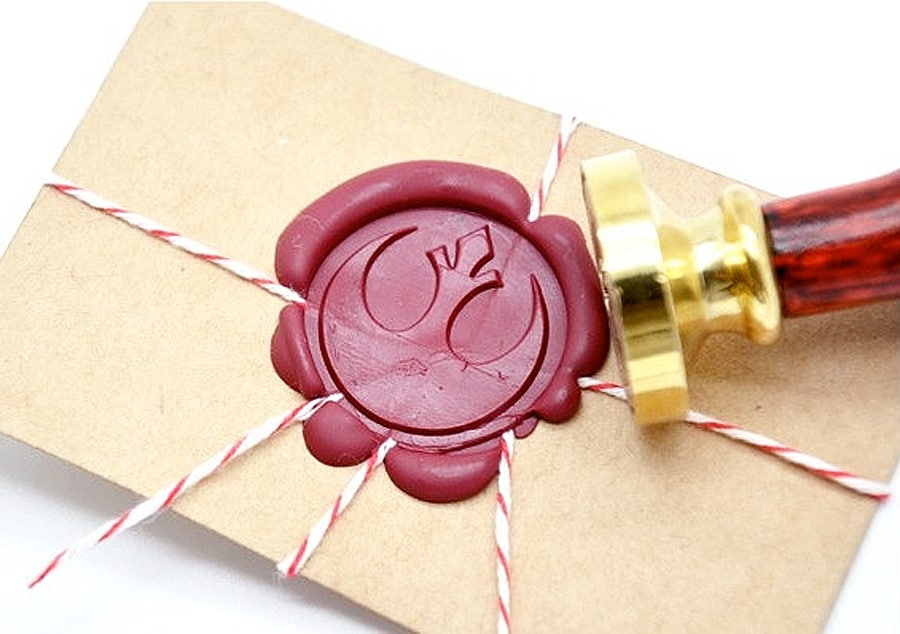B20 Star Wars Wax Seal Stamp Good for Snail Mail