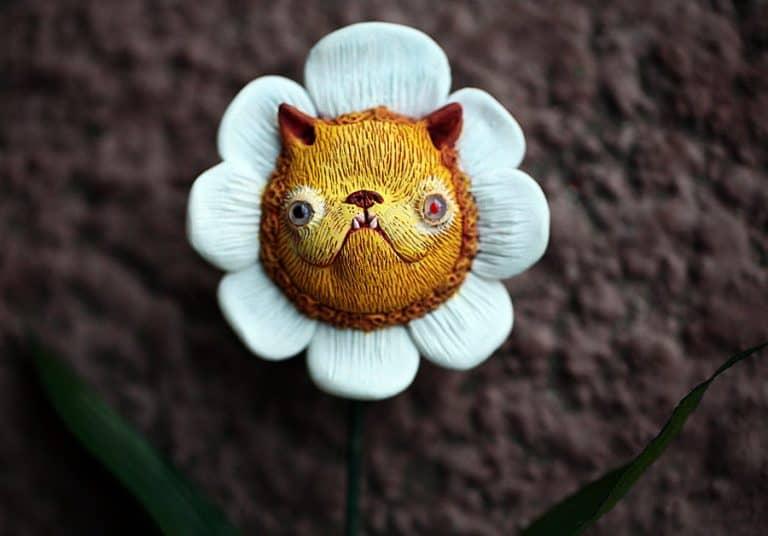 Chercheto Kitty Flower Gift Idea for Her