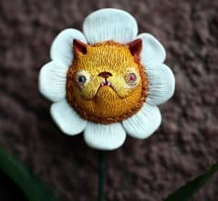 Your very own furry feline flower.