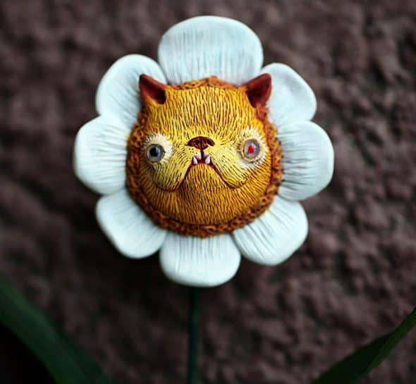 Chercheto Kitty Flower Gift Idea for Her