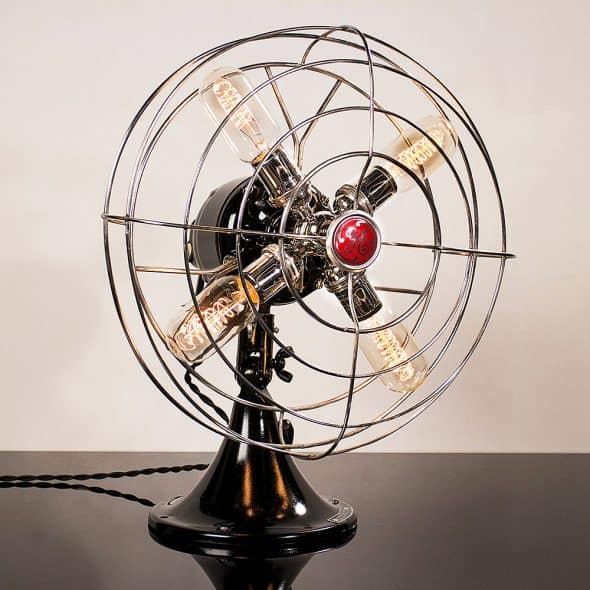 Dan Cordero Steampunk Fan Lamp Gift Idea for Home Appliances