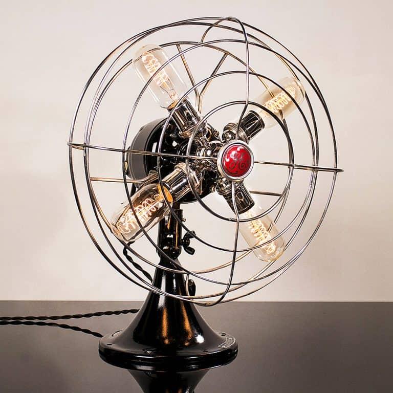 Dan Cordero Steampunk Fan Lamp Gift Idea for Home Appliances