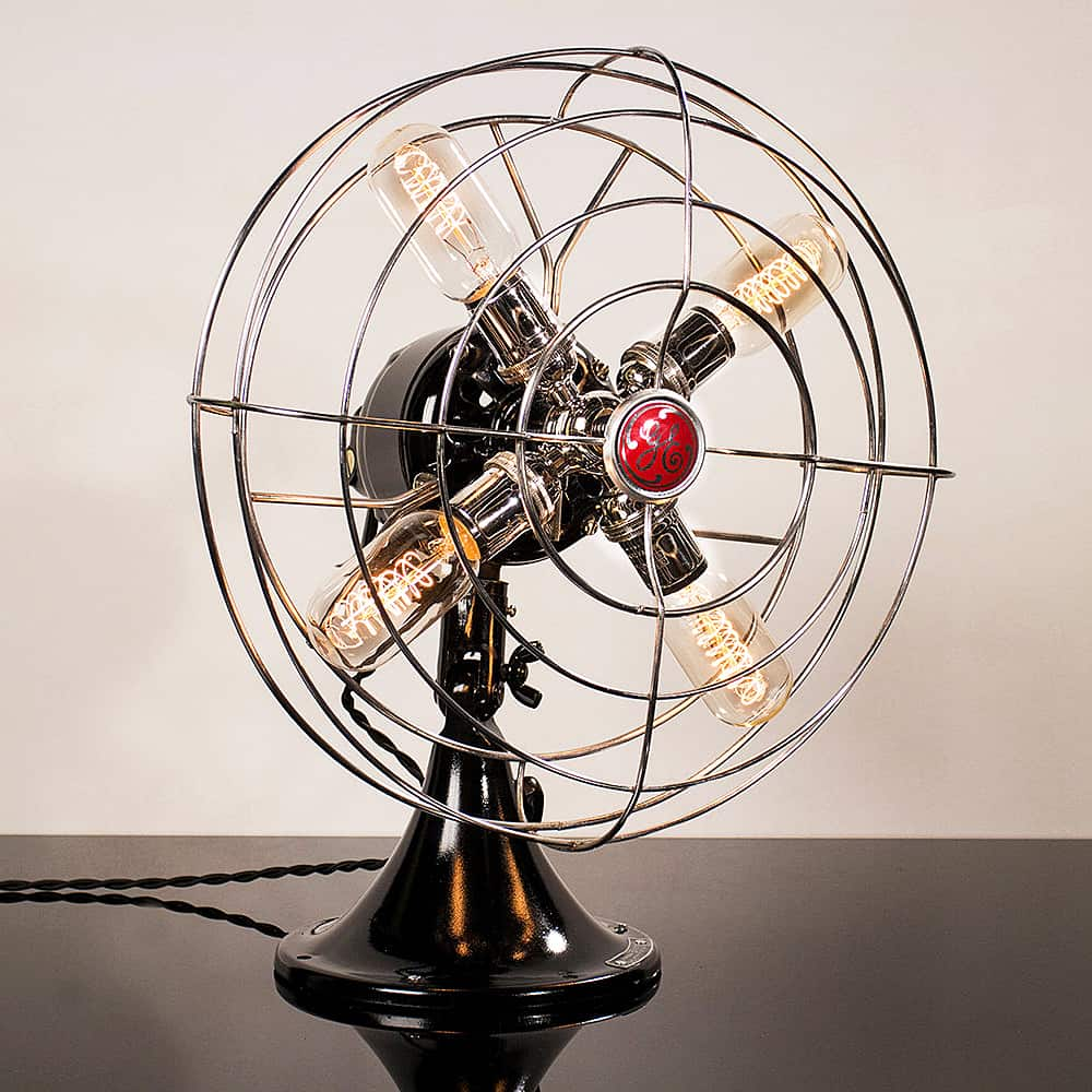 Dan Cordero Steampunk Fan Lamp Noveltystreet