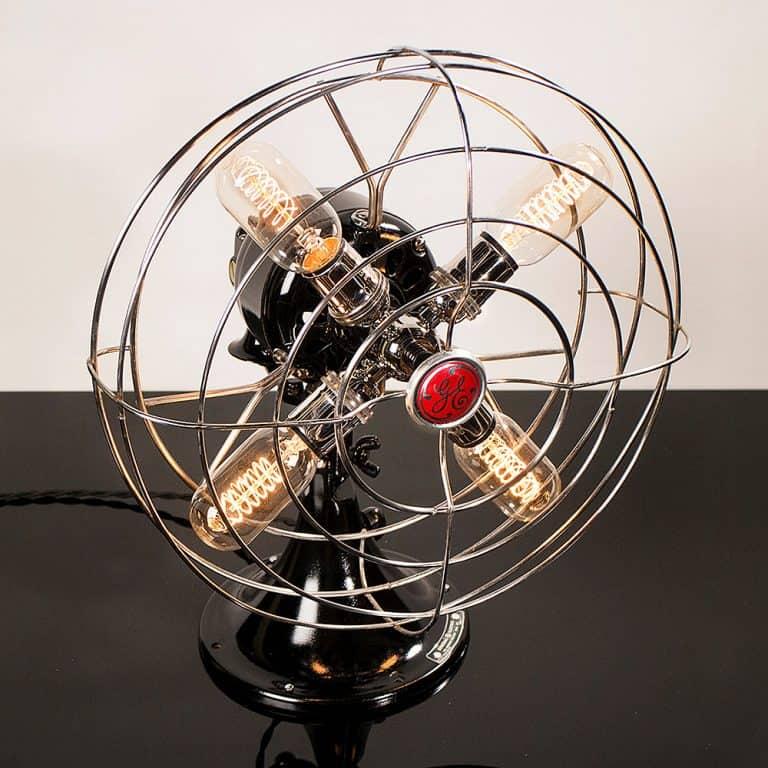 Dan Cordero Steampunk Fan Lamp Good for Bedroom