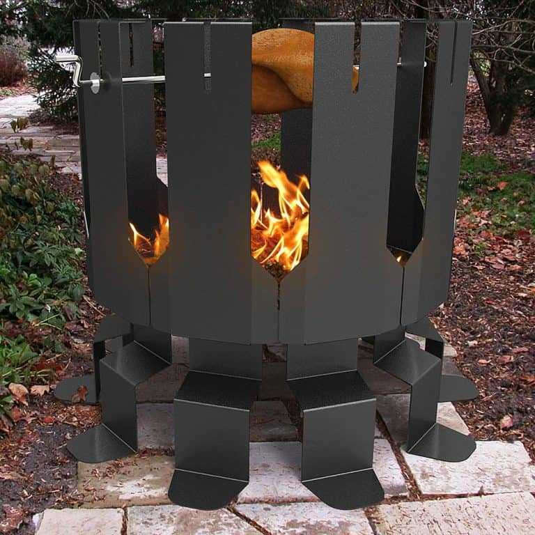 Decorpro Ion Fire Pit Good for Garden Decor