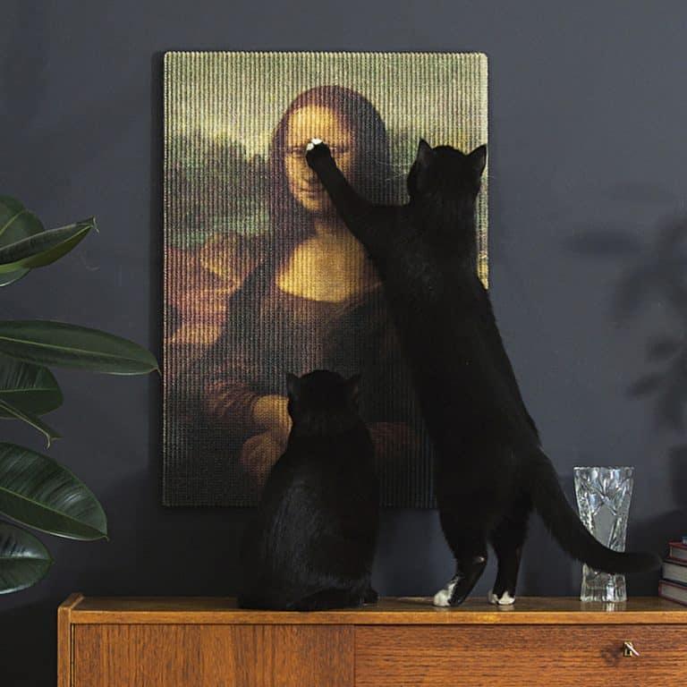 Erik Stehmann Copycat Art Scratcher Nice Gift for Cat Owner