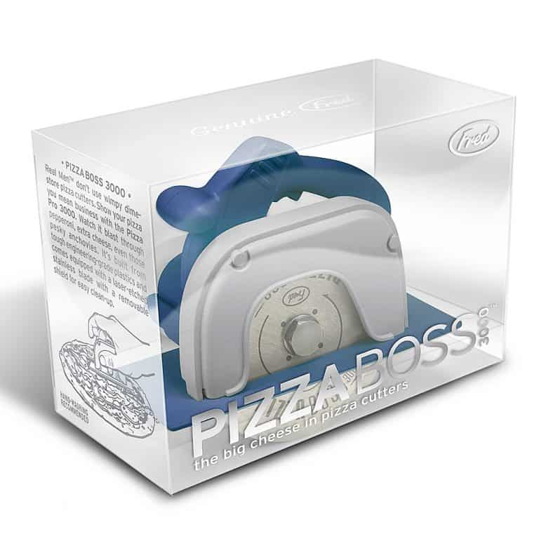 Fred & Friends Circular Saw Pizza Wheel Fun Way to Cut your Pie