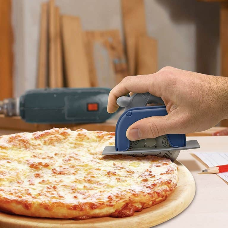 Fred & Friends Circular Saw Pizza Wheel Gift Idea for Food Lover