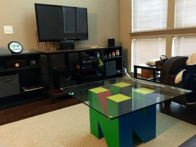 Geeks With Wood Nintendo 64 Mancave Coffee Table