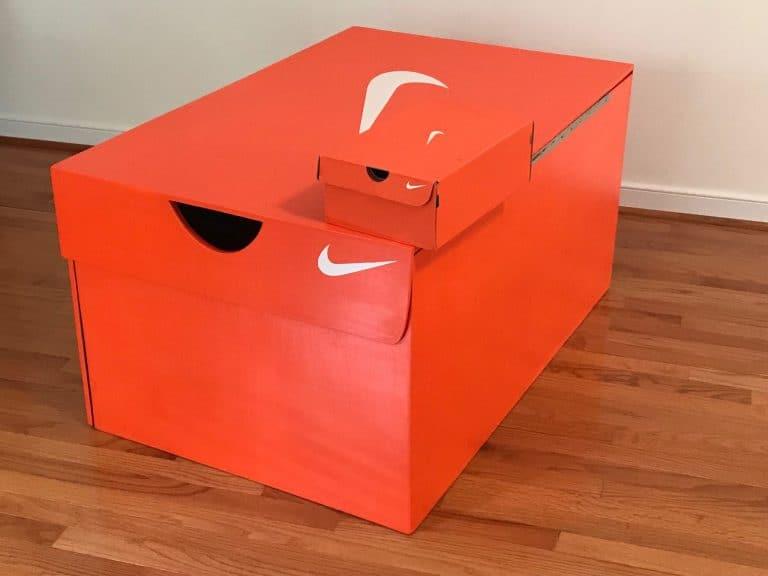 Giant Nike Shoe Box DIY