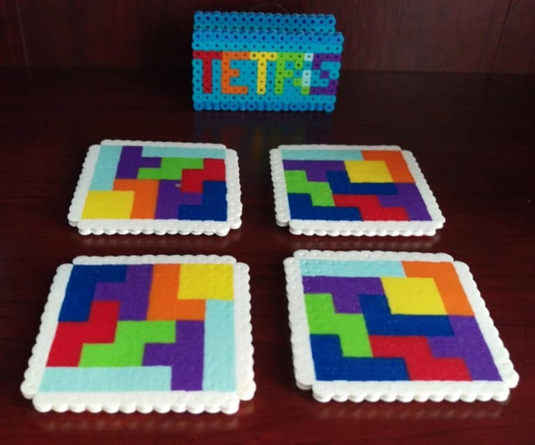 Good Golly Mister Tetris Themed Coasters Cool Novelty Item