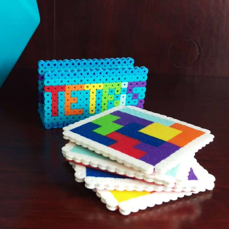 Good Golly Mister Tetris Themed Coasters Things to Have at Home