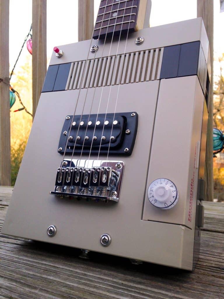 Guitendo Nintendo NES Electric Guitar Cool Things