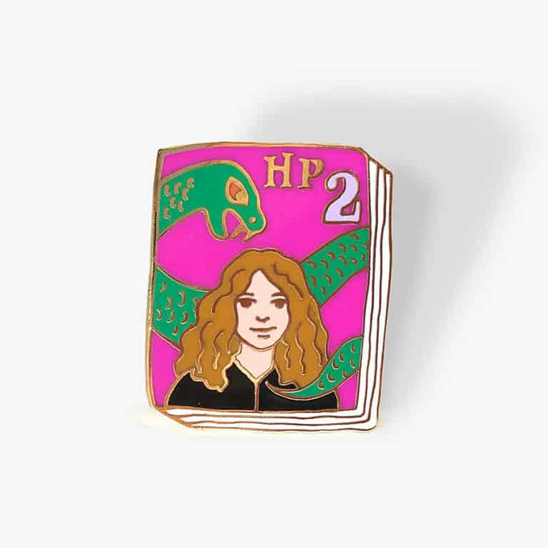 Ideal Bookshelf Harry Potter Book Badge Pin Great for Give aways