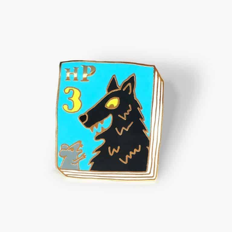 Ideal Bookshelf Harry Potter Book Badge Pin Nice Novelty Item