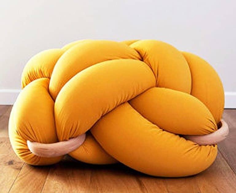 Top knot comfort.