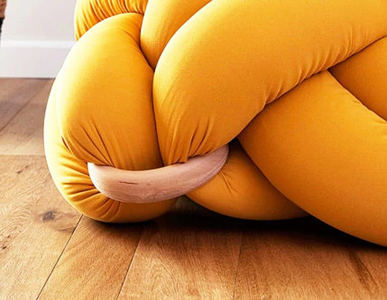 Knots Studio Knot Floor Pillow Things to Have in your bedroom