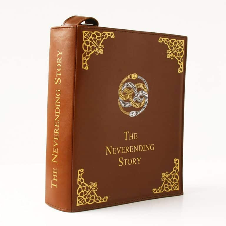 Krukru Studio Neverending Story Leather Book Purse Good Novelty Item