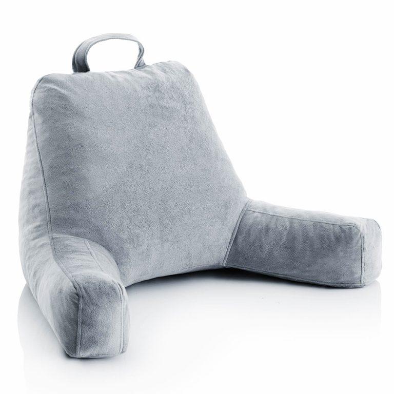 Linen Spa Shredded Foam Reading Pillow Nice Cushion