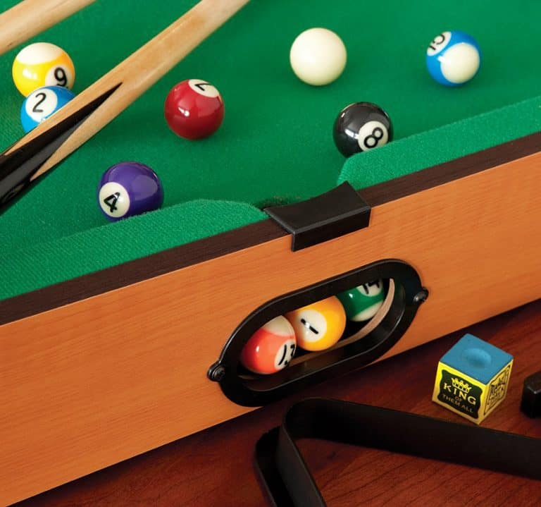 Mainstreet Classics Table Top Billiards Cool Indoor Game