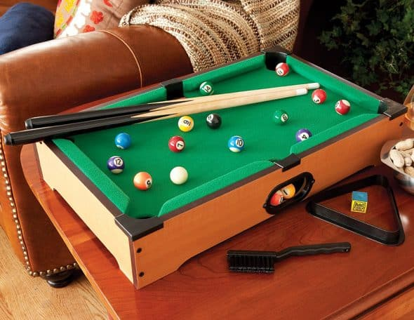 Mainstreet Classics Table Top Billiards Gift Idea