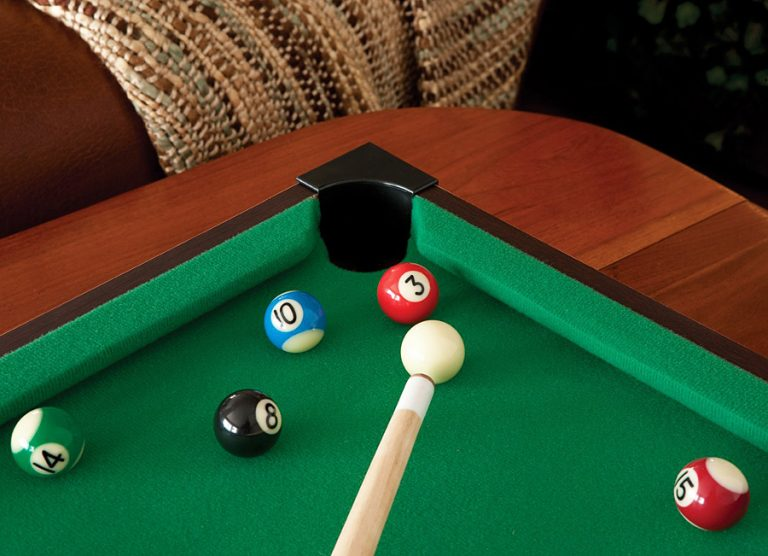 Mainstreet Classics Table Top Billiards Portable Novelty Item